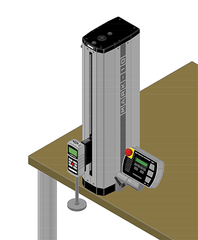 mark-10 motorized test stand rendering