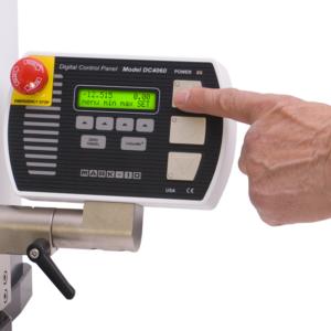 ESM303-Force_Measurement_System-closeup-finger-pressing-controller-g