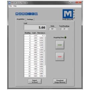 MESUR-Lite-Acquisition-screen