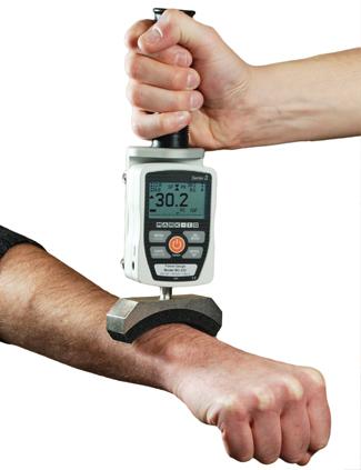 ergonomics force measurement demonstration