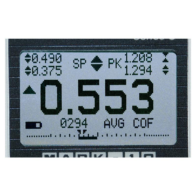 force gauge display closeup